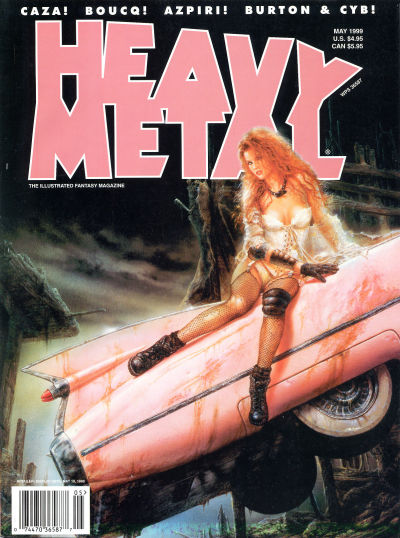 Cover for Heavy Metal Magazine (Heavy Metal, 1977 series) #v23#2
