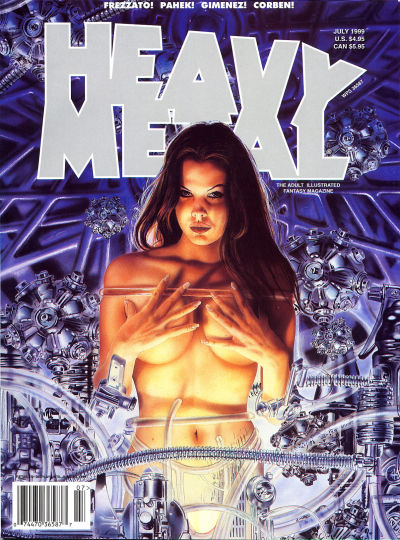 Cover for Heavy Metal Magazine (Heavy Metal, 1977 series) #v22 [23]#3