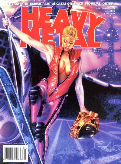 Cover for Heavy Metal Magazine (Heavy Metal, 1977 series) #v23#9 [4]