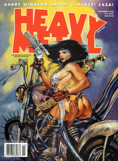 Cover for Heavy Metal Magazine (Heavy Metal, 1977 series) #v23#10 [5]