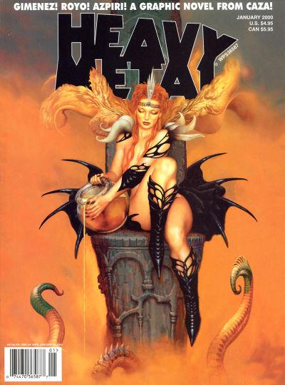 Cover for Heavy Metal Magazine (Heavy Metal, 1977 series) #v23#6
