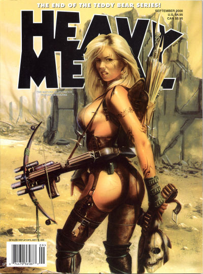 Cover for Heavy Metal Magazine (Heavy Metal, 1977 series) #v24#4
