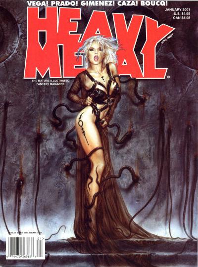 Cover for Heavy Metal Magazine (Heavy Metal, 1977 series) #v24#6