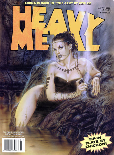 Cover for Heavy Metal Magazine (Heavy Metal, 1977 series) #v26#1