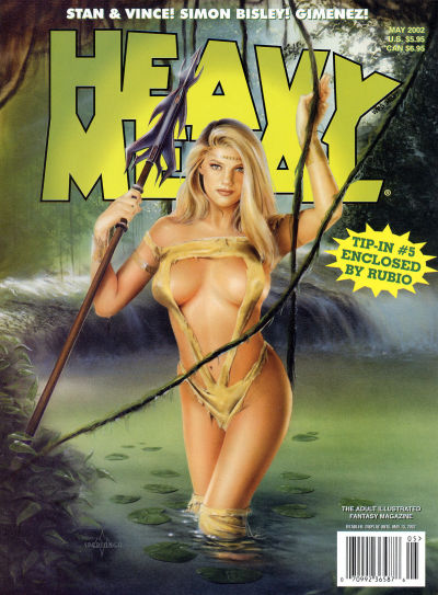 Cover for Heavy Metal Magazine (Heavy Metal, 1977 series) #v26#2