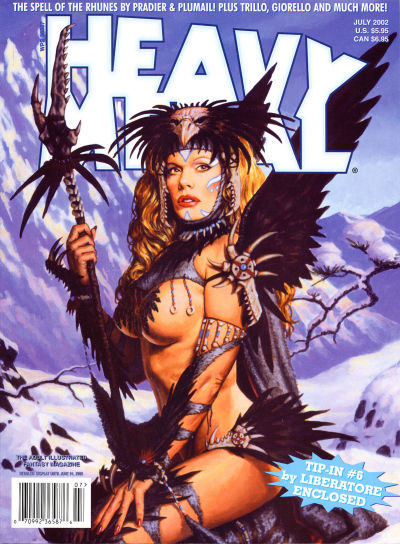 Cover for Heavy Metal Magazine (Heavy Metal, 1977 series) #v26#3