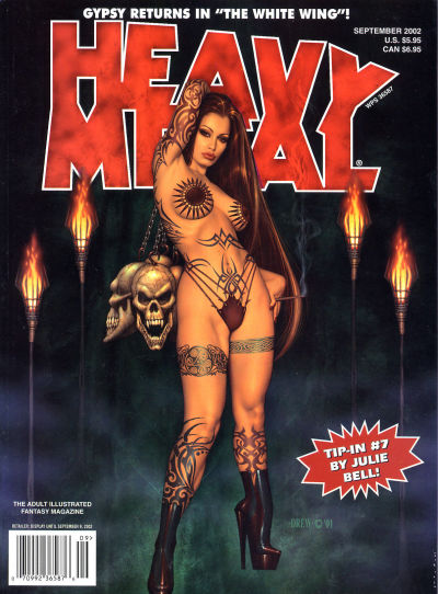 Cover for Heavy Metal Magazine (Heavy Metal, 1977 series) #v26#4