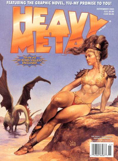 Cover for Heavy Metal Magazine (Heavy Metal, 1977 series) #v26#5