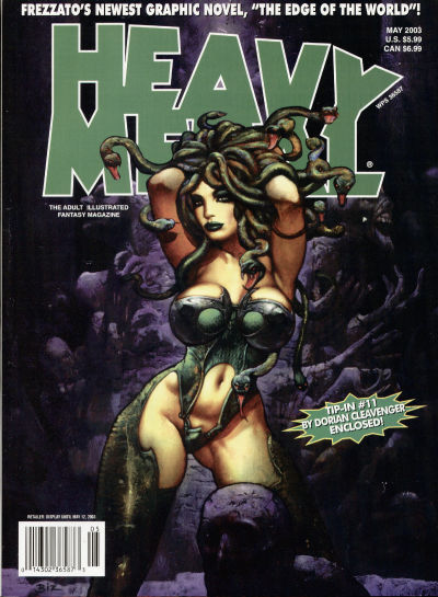 Cover for Heavy Metal Magazine (Heavy Metal, 1977 series) #v27#2