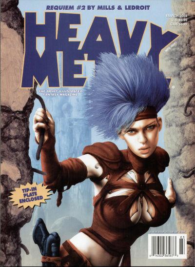 Cover for Heavy Metal Magazine (Heavy Metal, 1977 series) #v28#1
