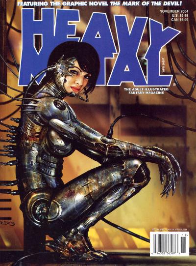 Cover for Heavy Metal Magazine (Heavy Metal, 1977 series) #v28#5