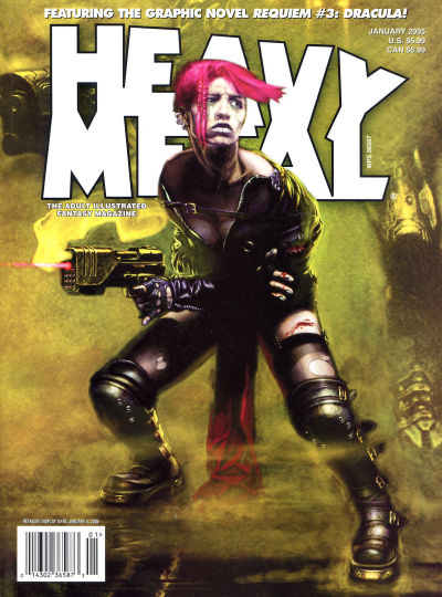 Cover for Heavy Metal Magazine (Heavy Metal, 1977 series) #v28#6