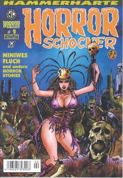 Cover for Horrorschocker (Weissblech Comics, 2004 series) #2