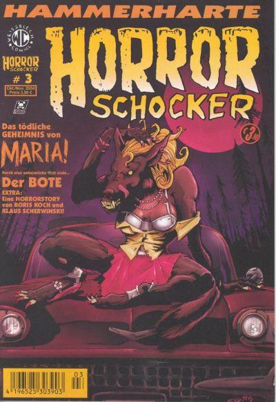 Cover for Horrorschocker (Weissblech Comics, 2004 series) #3