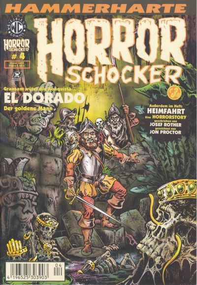 Cover for Horrorschocker (Weissblech Comics, 2004 series) #4