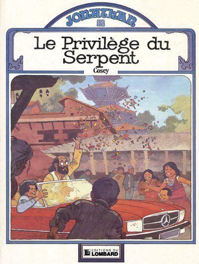 Cover for Jonathan (Le Lombard, 1977 series) #8 - Le privilège du serpent