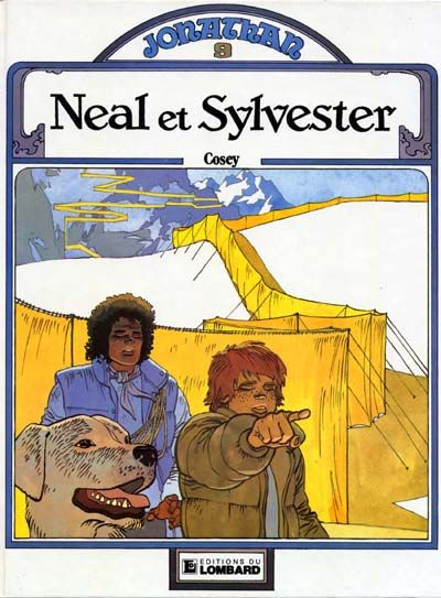 Cover for Jonathan (Le Lombard, 1977 series) #9 - Neal et Sylvester