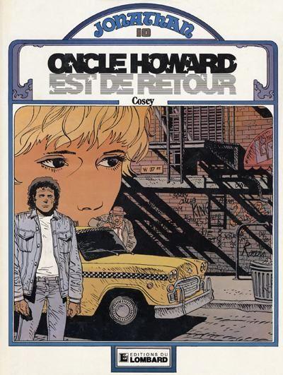Cover for Jonathan (Le Lombard, 1977 series) #10 - Oncle Howard est de retour