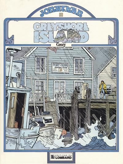 Cover for Jonathan (Le Lombard, 1977 series) #11 - Greyshore Island