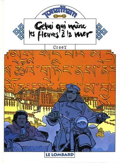 Cover for Jonathan (Le Lombard, 1977 series) #12 - Celui qui mène les fleuves à la mer
