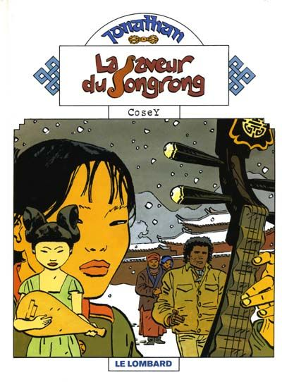 Cover for Jonathan (Le Lombard, 1977 series) #13 - La saveur du Songrong
