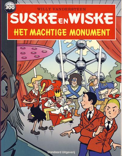 Cover for Suske en Wiske (Standaard Uitgeverij, 1967 series) #300 - Het machtige monument