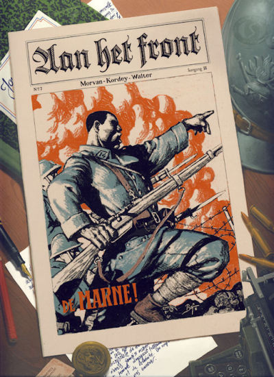 Cover for Aan het front (Silvester, 2008 series) #1