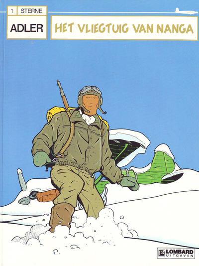 Cover for Adler (Le Lombard, 1987 series) #1 - Het vliegtuig van Nanga