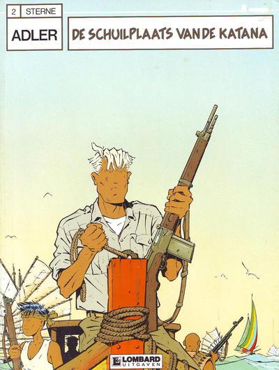 Cover for Adler (Le Lombard, 1987 series) #2 - De schuilplaats van de Katana