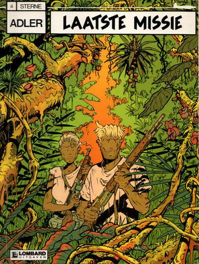 Cover for Adler (Le Lombard, 1987 series) #4 - Laatste missie