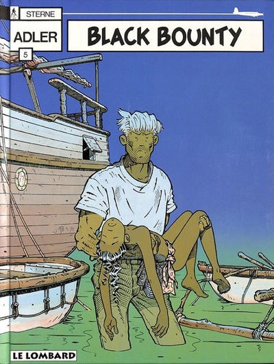 Cover for Adler (Le Lombard, 1987 series) #5 - Black Bounty