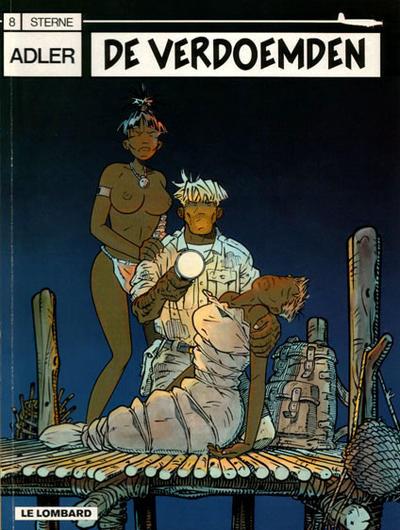 Cover for Adler (Le Lombard, 1987 series) #8 - De verdoemden