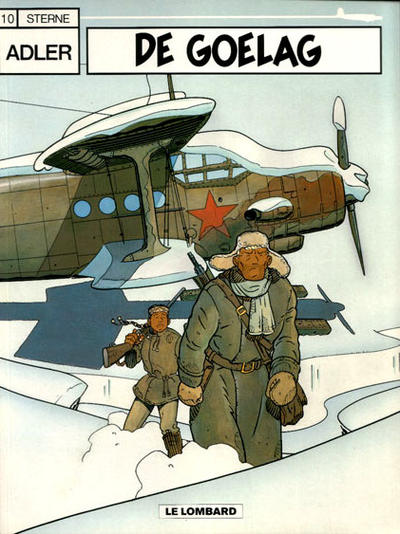 Cover for Adler (Le Lombard, 1987 series) #10 - De Goelag