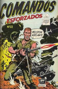 Cover Thumbnail for Comandos Esforzados (Editora de Periódicos La Prensa S.C.L., 1956 series) #22