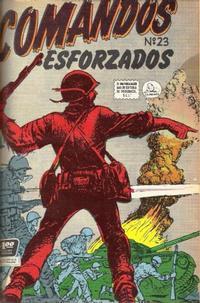 Cover Thumbnail for Comandos Esforzados (Editora de Periódicos La Prensa S.C.L., 1956 series) #23