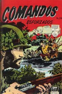 Cover Thumbnail for Comandos Esforzados (Editora de Periódicos La Prensa S.C.L., 1956 series) #24