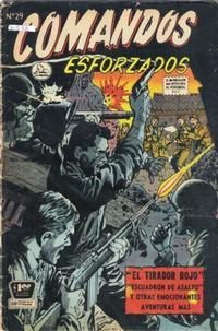 Cover Thumbnail for Comandos Esforzados (Editora de Periódicos La Prensa S.C.L., 1956 series) #29