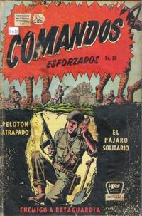 Cover Thumbnail for Comandos Esforzados (Editora de Periódicos La Prensa S.C.L., 1956 series) #30