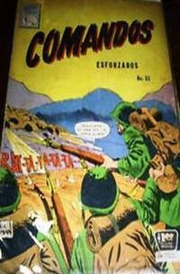 Cover Thumbnail for Comandos Esforzados (Editora de Periódicos La Prensa S.C.L., 1956 series) #53