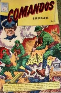Cover Thumbnail for Comandos Esforzados (Editora de Periódicos La Prensa S.C.L., 1956 series) #55