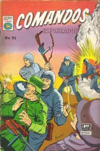 Cover Thumbnail for Comandos Esforzados (Editora de Periódicos La Prensa S.C.L., 1956 series) #91