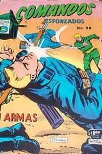 Cover Thumbnail for Comandos Esforzados (Editora de Periódicos La Prensa S.C.L., 1956 series) #98