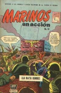 Cover Thumbnail for Marinos en Acción (Editora de Periódicos La Prensa S.C.L., 1955 series) #51