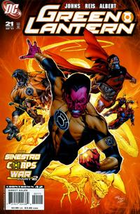 Cover Thumbnail for Green Lantern (DC, 2005 series) #21 [Standard Cover]