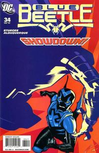 Cover Thumbnail for The Blue Beetle (DC, 2006 series) #34