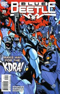 Cover Thumbnail for The Blue Beetle (DC, 2006 series) #35
