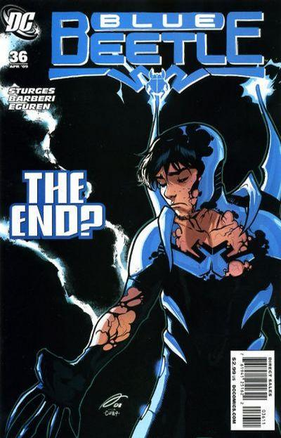 Cover for The Blue Beetle (DC, 2006 series) #36