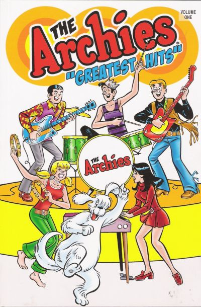 """Cover for The Archies """"Greatest Hits"""" (Archie, 2008 series)"""
