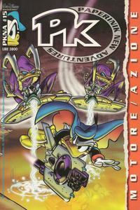 Cover Thumbnail for Pk Paperinik New Adventures (The Walt Disney Company Italia, 1996 series) #15