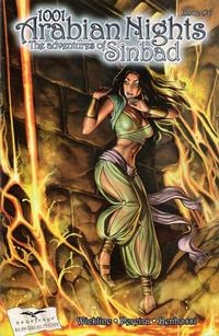 Cover Thumbnail for 1001 Arabian Nights: The Adventures of Sinbad (Zenescope Entertainment, 2008 series) #6 [Cover B - Aly Fell]